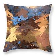 Land And Sea Throw Pillow by Heidi Smith