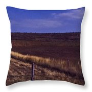 Land Escape Throw Pillow