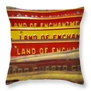 Land Of Enchantment Throw Pillow