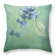 Land Of Milk And Honey Throw Pillow