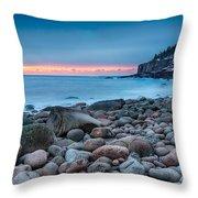Land Of Sunrise Throw Pillow