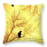 Land Of The Dead Throw Pillow