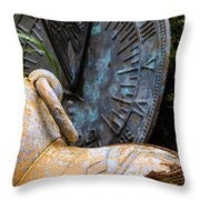Land Of The Lost  Throw Pillow