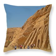 Land Of The Pharaohs Throw Pillow