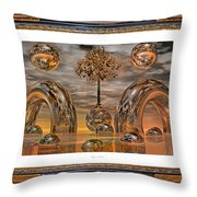 Land Of World 8624042 Framed Throw Pillow