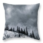 Land Shapes 1 Throw Pillow