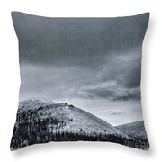 Land Shapes 10 Throw Pillow