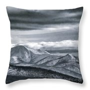 Land Shapes 4 Throw Pillow