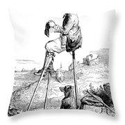 Landes Shepherd, Childrens Fairy Throw Pillow