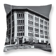 Landmark Life Savers Building II Throw Pillow