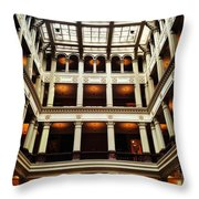 Landmark Prestige Throw Pillow