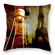 Landmarks  Throw Pillow