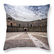 Landquard Fort Throw Pillow