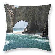 Lands End Beach - Cabo San Lucas Mexico Throw Pillow