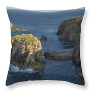 Lands End Cornwall Throw Pillow