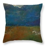 Landscape # 18 - Prints Available But Original Sold Throw Pillow