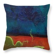 Landscape # 20 - Prints Available But Original Sold Throw Pillow