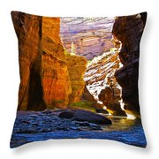Landscape 14 Throw Pillow
