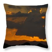 Landscape 3 Of 3 Throw Pillow