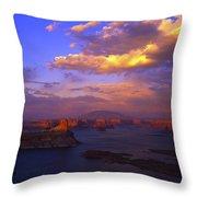 Landscape 413 Throw Pillow