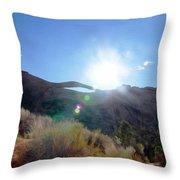 Landscape Arch 1 Throw Pillow