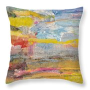Landscape Collage #1 Throw Pillow