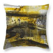 Landscape I Dunes Throw Pillow