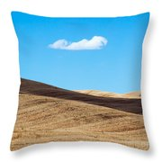 Landscape In Summer Tuscany Italy Throw Pillow