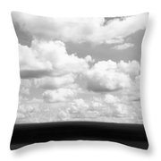 Landscape Layers In The Midwest Throw Pillow