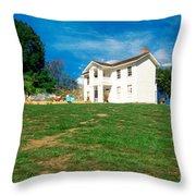 Landscape - Missouri Town - Missouri Throw Pillow