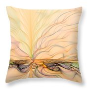 Landscape Of Fantasy Throw Pillow