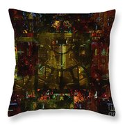 Landscape Of Hell Throw Pillow
