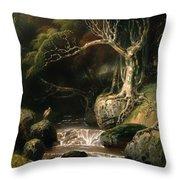 Landscape - Solitude Throw Pillow