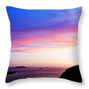 Landscape - Sunset Throw Pillow