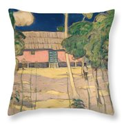 Landscape Trinidad Throw Pillow