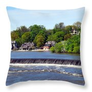 Landscapes In Philly Throw Pillow
