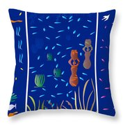 Landscapes With Women - Limited Edition 1 Of 20 Throw Pillow