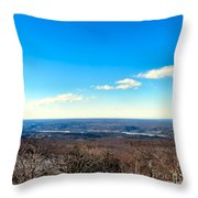 Landscaping Eternity Throw Pillow