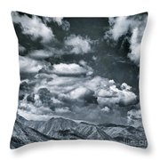 Land Shapes 28 Throw Pillow