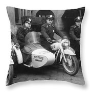 Landshut City Police Throw Pillow