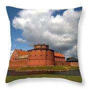 landskrona SE Slott Citadellet 03 Throw Pillow