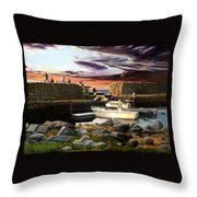 Lanes Cove Gloucester Throw Pillow