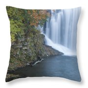 Lanesboro Dam 12 Throw Pillow