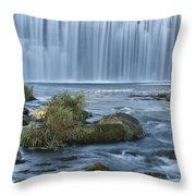 Lanesboro Dam 9 Throw Pillow