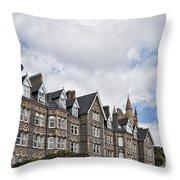 Langland Bay Manor Throw Pillow