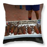 Langosta Throw Pillow