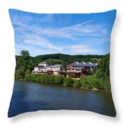 Langsur Germany From Luxemburg Throw Pillow