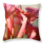 Lantana Macro I Throw Pillow