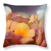 Lantana Macro Iv Throw Pillow