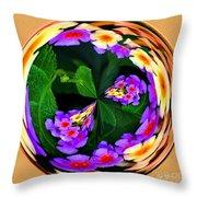 Lantana Orb Throw Pillow
